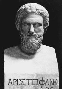 Commedia politica nell'antica Grecia