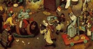Festa dei Pazzi, Carnevale e Quaresima