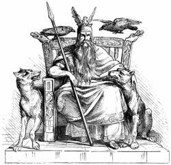 Odino e la fonte della saggezza