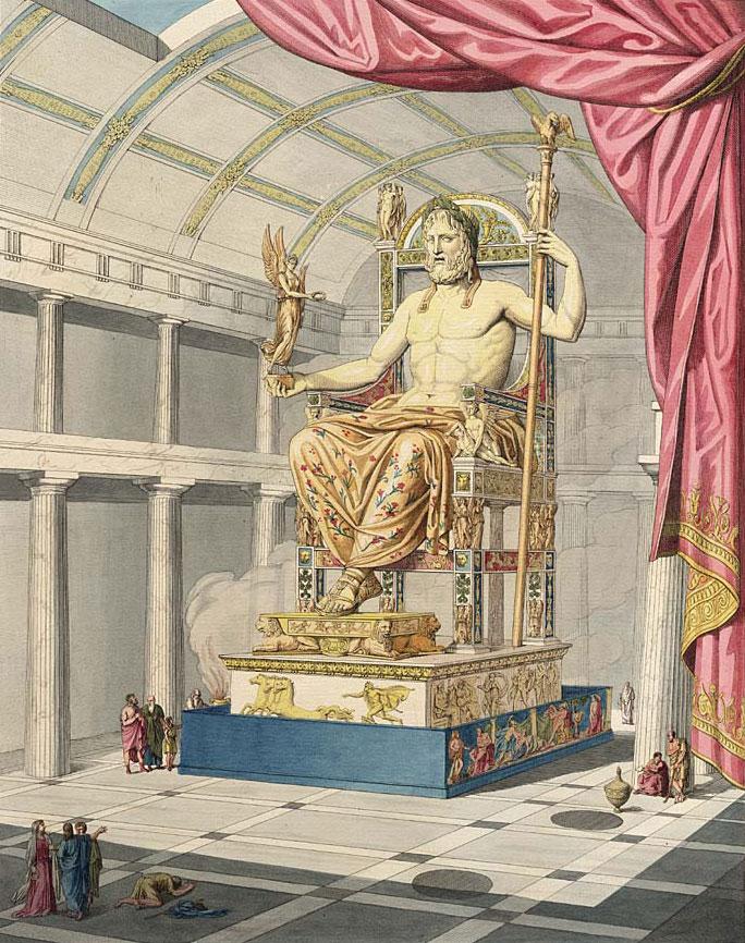 La statua di Zeus