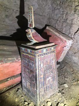 Saqqara: scoperti sarcofagi intatti