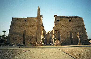Storia dell'antico Egitto - Medio Regno. Tempio Amon - Luxor