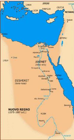 Storia dell'antico Egitto Nuovo Regno