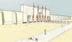 Menfi - Tempio di Ptah