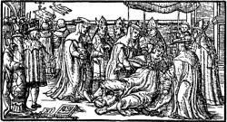 Papessa Giovanna: il parto