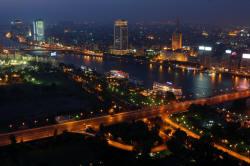Il Cairo di notte